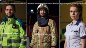 Wanneer de hulpverlener zelf het slachtoffer wordt: camera's en affiches tegen geweld