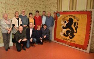 De Spaenhiers restaureren de vlag van de Sint-Genesiusgilde