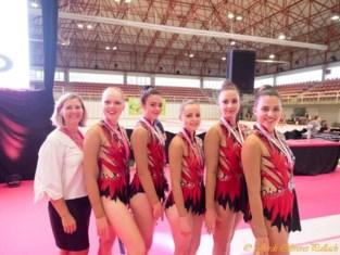 RG ploeg van Gym Haacht behaalde mooie resultaten op de Spaanse Figueres Cup