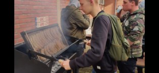 Collegeleerlingen ontwerpen roterende barbecue