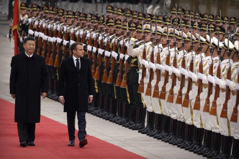 """Macron versterkt """"diplomatie van musea"""" via Chinese vestiging Centre Pompidou"""