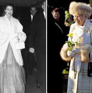 Na 93 jaar zweert queen Elizabeth bont af