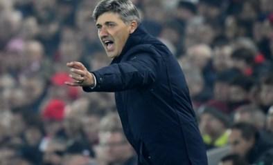 """Genk-coach Felice Mazzu is trots op prestatie in Liverpool, maar: """"Blijkbaar is de match tegen AA Gent cruciaal"""""""