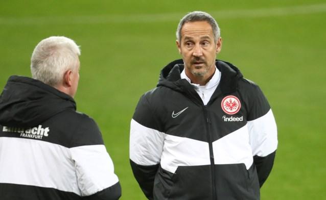 """Frankfurt-coach: """"Match tegen Standard is duel met rechtstreekse uitschakeling"""""""