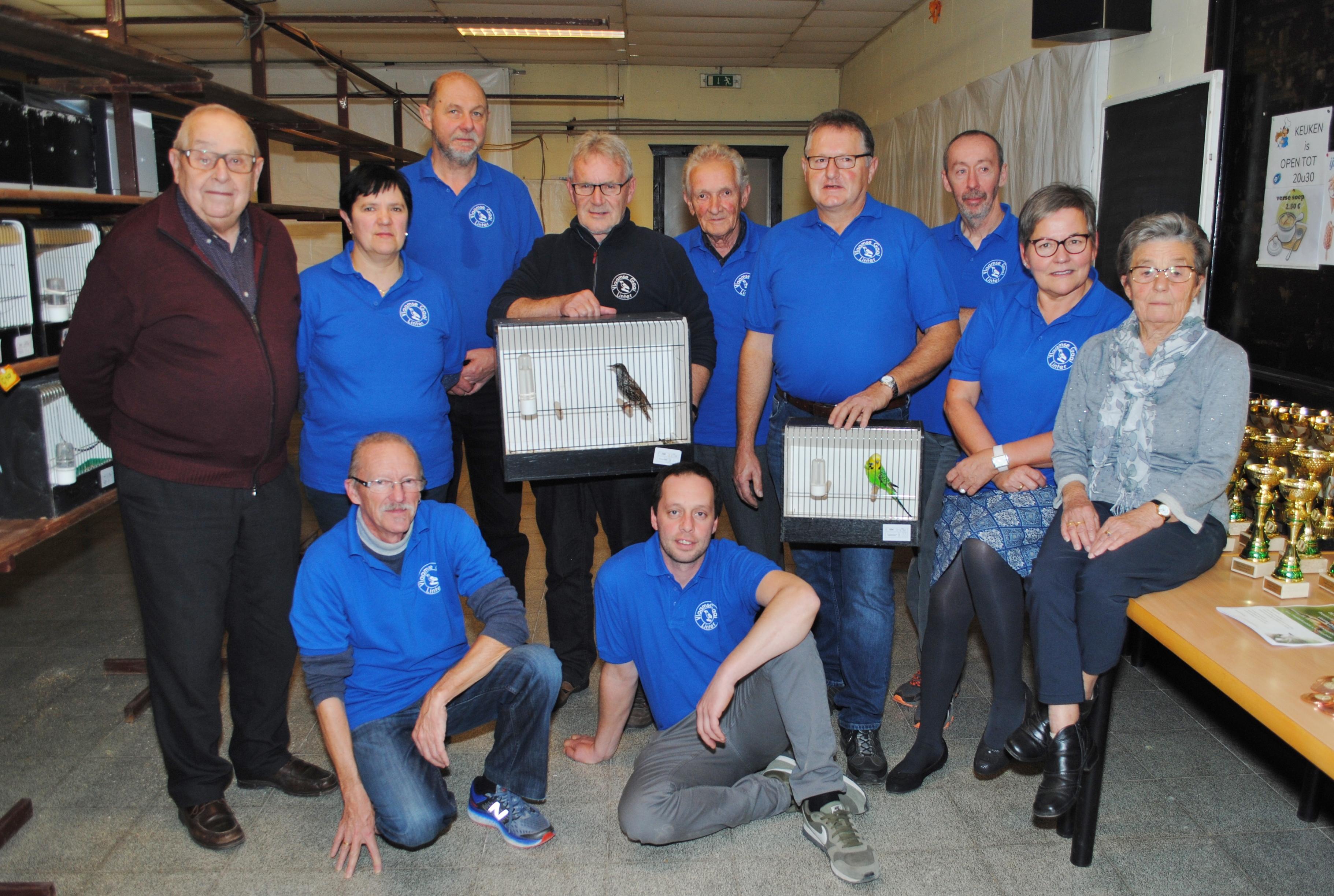 De Vlaamse Gaai houdt jaarlijkse tentoonstelling in voetbalk... (Linter) - Het Nieuwsblad