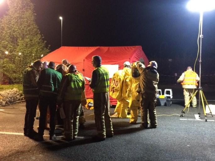 28-tal reizigers op trein in Denderleeuw geëvacueerd na vondst wit poeder