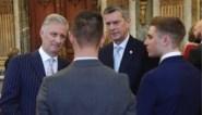 Belgische kampioenen van het jaar, waaronder Remco Evenepoel en de Red Lions, ontvangen door de Koning
