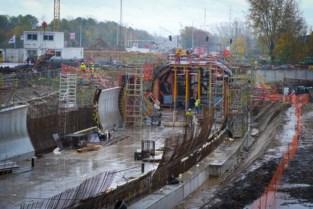 Pas aangelegde fietstunnel halve meter te diep en aan andere kant te hoog