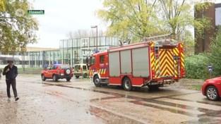 VIDEO. Incident met gevaarlijke vloeistof bij chemisch experiment op Universiteit Hasselt