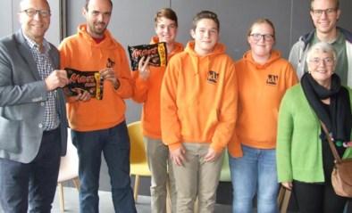 CD&V trakteert jeugdbewegingen op chocolade