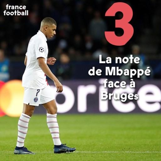 Niets over penaltyklucht maar Franse pers zag een goed Club Brugge en is streng voor Mbappé