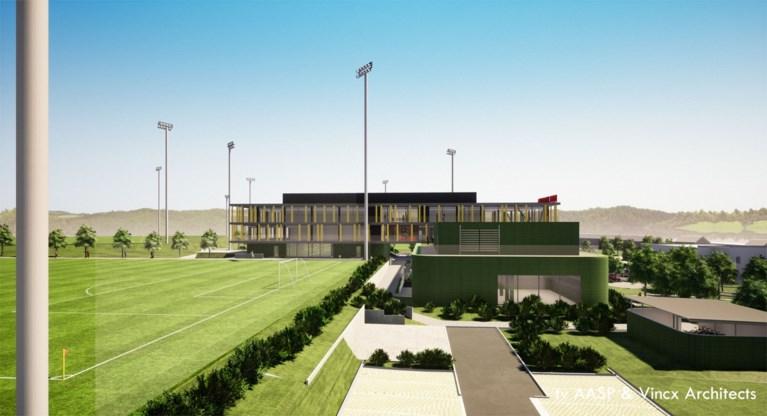Belgische Voetbalbond presenteert nieuw logo dat op shirts van Rode Duivels komt én gloednieuw <I>Belgian Football Centre</I>