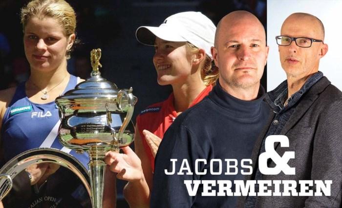 JACOBS & VERMEIREN. Waarom de wondertandem Kim Clijsters/Justine Henin in België nog steeds alles en iedereen overtroeft
