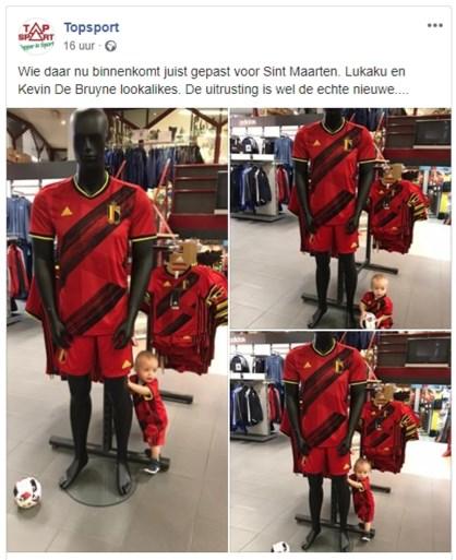 Nieuwe truitjes van Rode Duivels zijn nog niet te koop, maar Belgische sportwinkel pakt nu al uit met primeur
