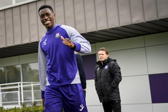 Anderlecht licht optie in contract van Sambi Lokonga