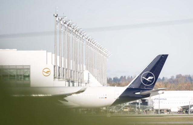 Staking cabinepersoneel Lufthansa: veertien vluchten van en naar Brussels Airport geannuleerd donderdag