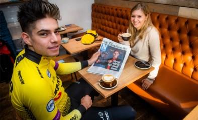 """Na winst van Flandrien is het weer revalideren geblazen voor Wout van Aert: """"Ik heb weinig tijd om rustig te genieten"""""""