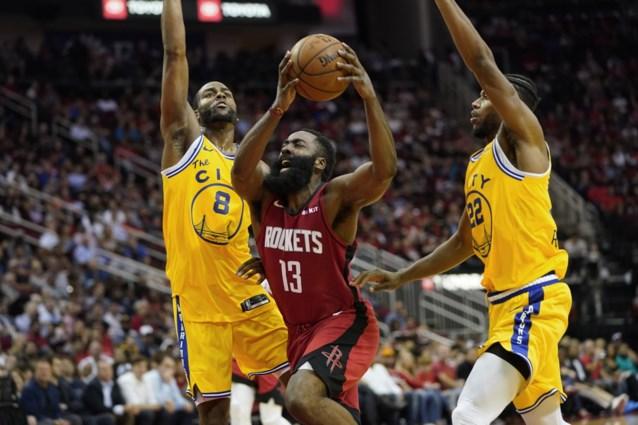 NBA. Golden State blijft in hetzelfde bedje ziek, Milwaukee en Houston pakken volle buit