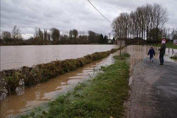 Werken tegen wateroverlast in Herne langs de Mark gestart - Het Nieuwsblad