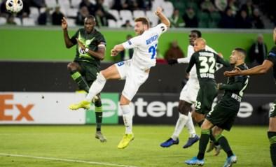 AA Gent stunt op bezoek bij Wolfsburg en heeft Europees overwinteren zo goed als binnen