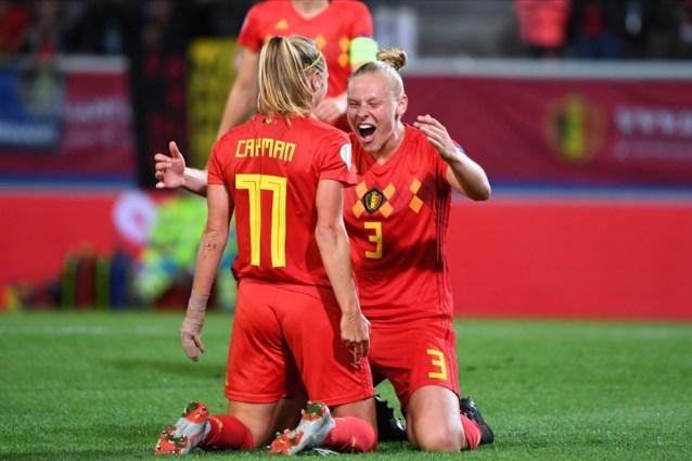 Ella Van Kerkhoven en Heleen Jaques haken geblesseerd af bij de Red Flames