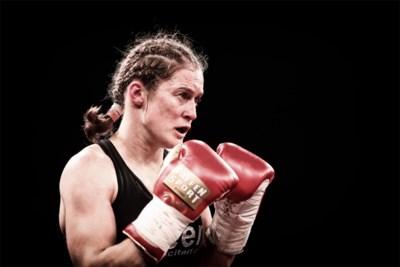 """Delfine Persoon voor het eerst in de ring sinds de 'diefstal' van New York: """"Taylor wil niet meer tegen mij boksen"""""""