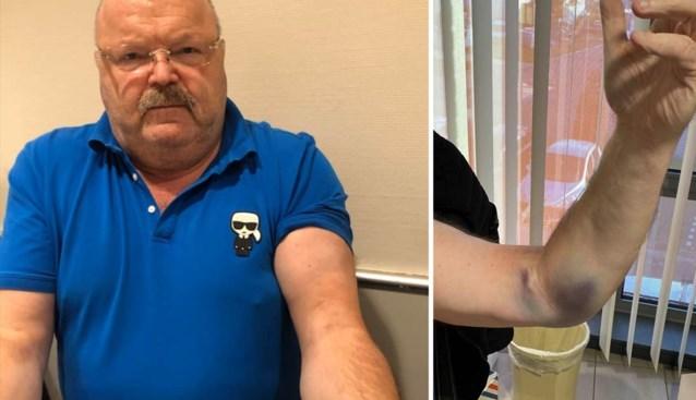 """Michel Van den Brande moet onder het mes na ongelukje in huis: """"Anders hou ik daar een Popeye-arm aan over"""""""