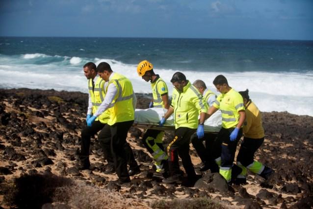 Negen migranten omgekomen bij schipbreuk voor kust van Lanzarote