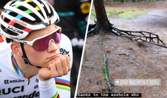 """Mathieu van der Poel bestolen op training: """"Ik ben trots op jou..."""""""