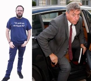 Gevleugelde woorden waarmee Jan Jambon de toon zette in het Vlaams parlement nu ook te koop op T-shirt