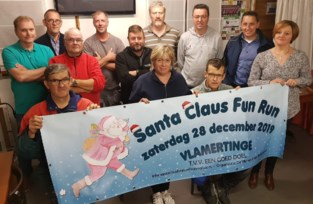 Voor het eerst Santa Claus Fun Run in Ieperse deelgemeente
