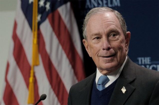 Voormalig burgemeester van New York Bloomberg overweegt zich kandidaat te stellen voor presidentsverkiezingen VS