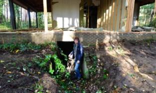 """Natuurpunt richt Lovenhoek opnieuw in: """"Illegale chalet verandert in vleermuizenkelder"""""""