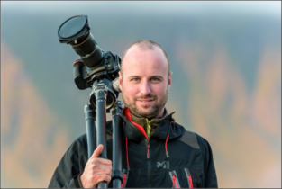Natuurfotografen Calopteryx nodigen Bart Heirweg uit