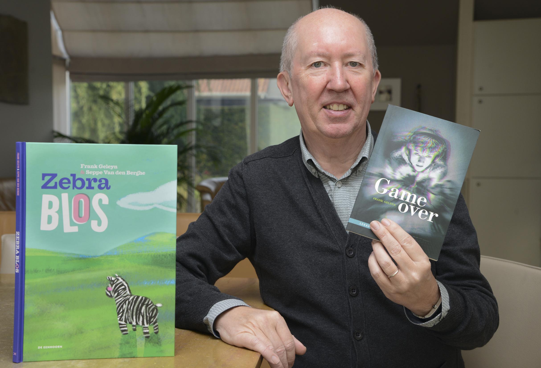 Gameverslaafde leerlingen inspiratiebron voor nieuw boek van auteur Frank Geleyn