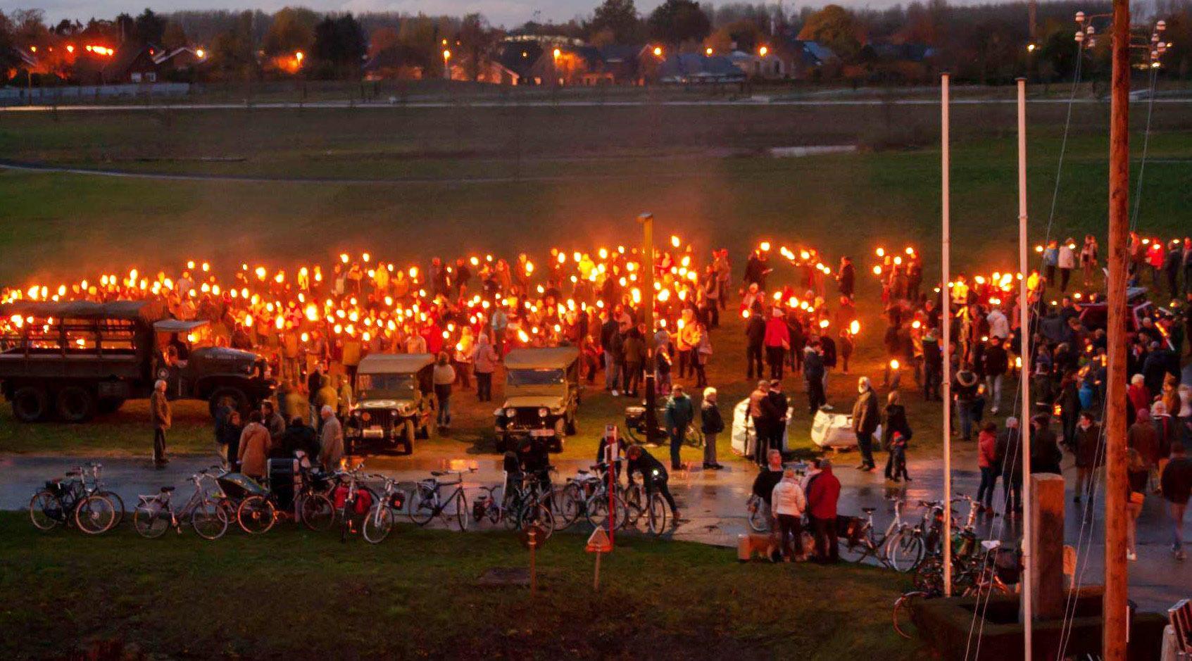 Vredesfeest in historisch Fort Liezele om Wapenstilstand te herdenken