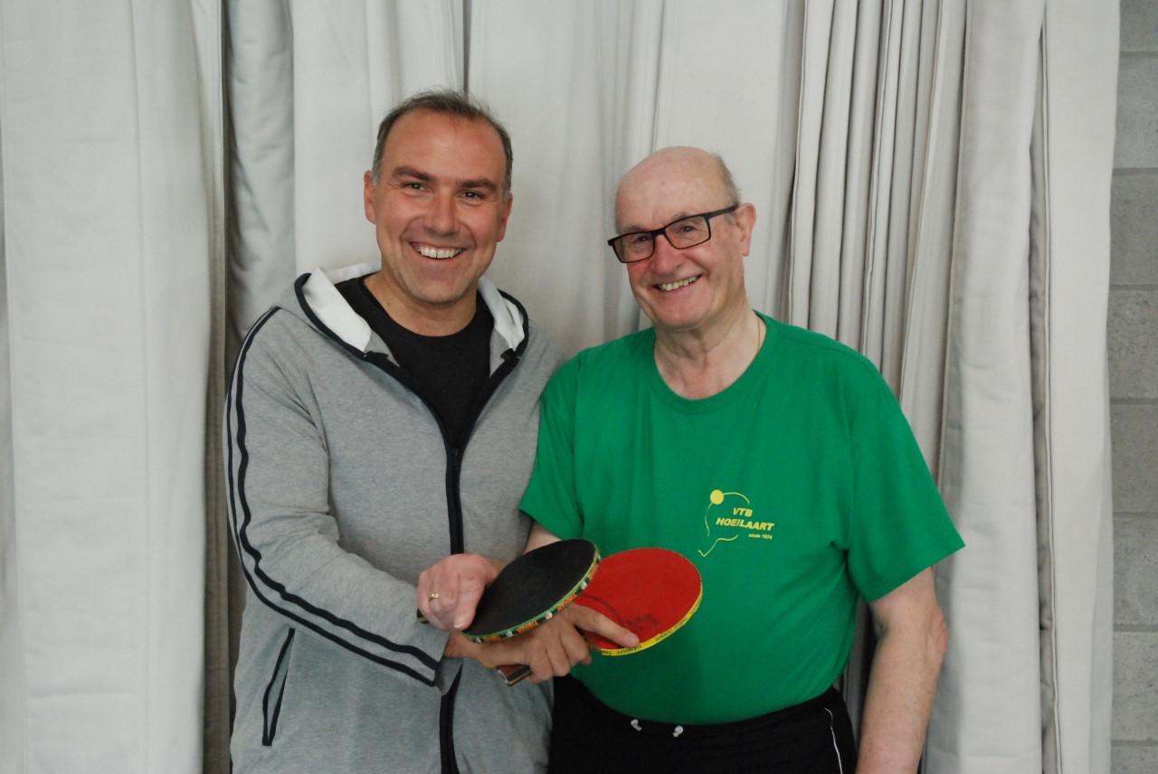 Trofee Uitzonderlijke Sportverdienste voor Paul Vanloo