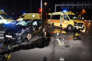 Verkeerschaos na ongeval met ambulance op Hasseltse ring