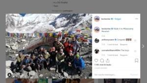 Borlée geëvacueerd na trektocht door Himalaya