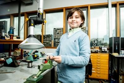 """Laurent is nog geen 10 maar studeert bijna af aan de universiteit: """"Enorm verschil met alle andere studenten"""""""