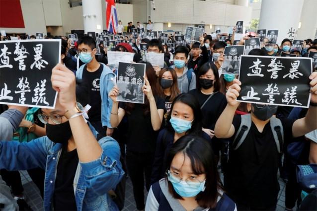 Protestacties Hongkong: student overleden na val van parkeergarage