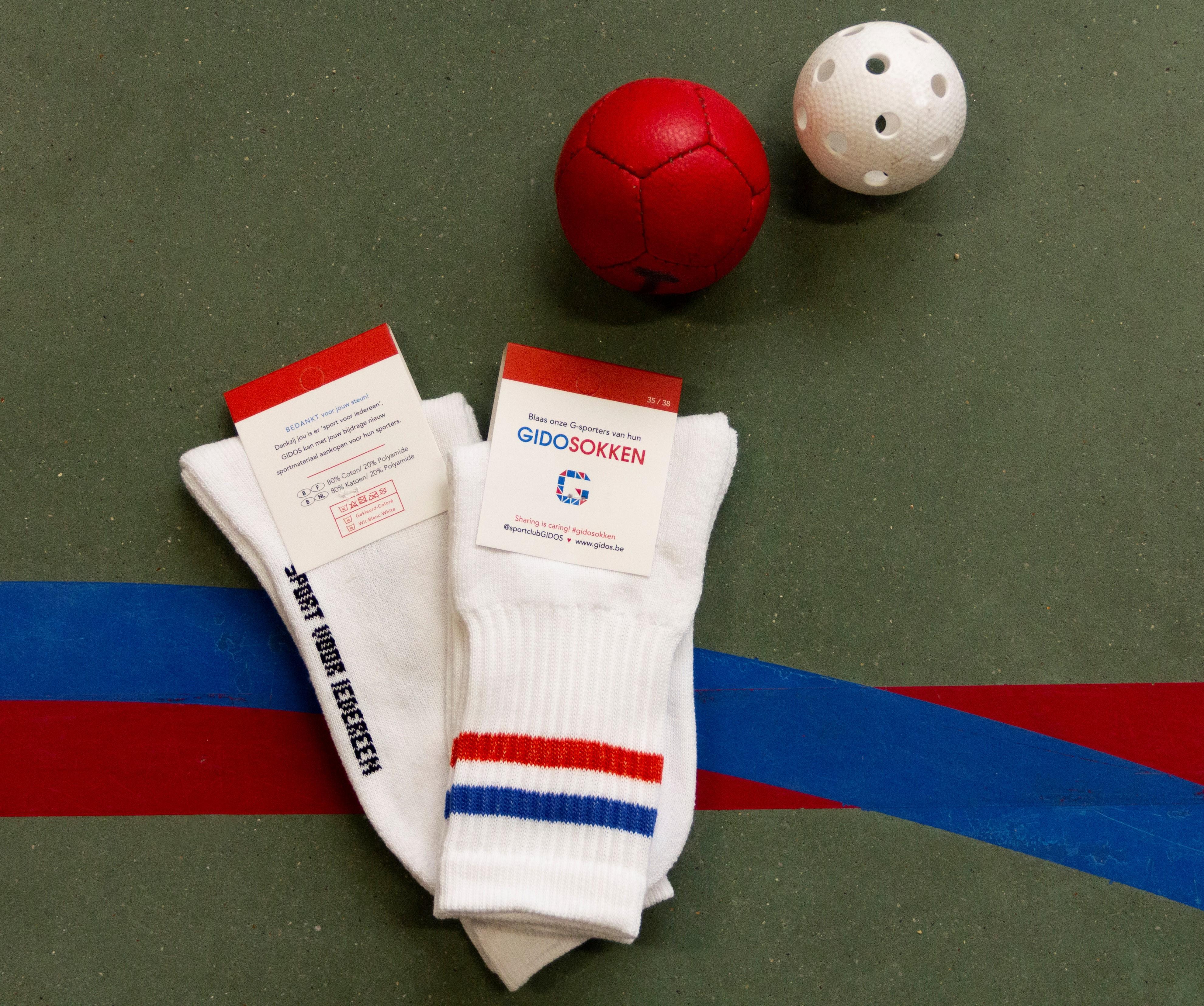 G-sportclub GIDOS pakt uit met gepersonaliseerde sportsokken... (Hooglede) - Het Nieuwsblad