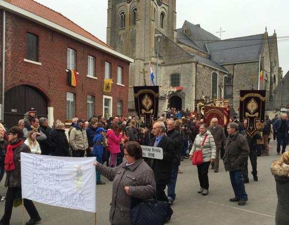 Bedevaart van paasmaandag in Hakendover gaat niet door
