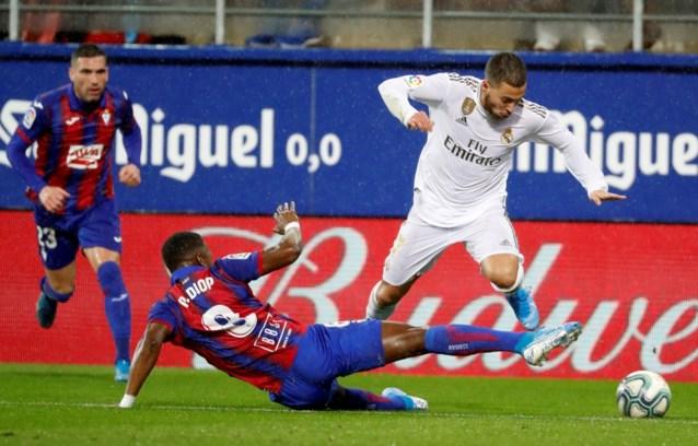 Eden Hazard dolt eindelijk voor Real: een kaats met de hak, twee ongrijpbare dribbels én een rabona in één aanval