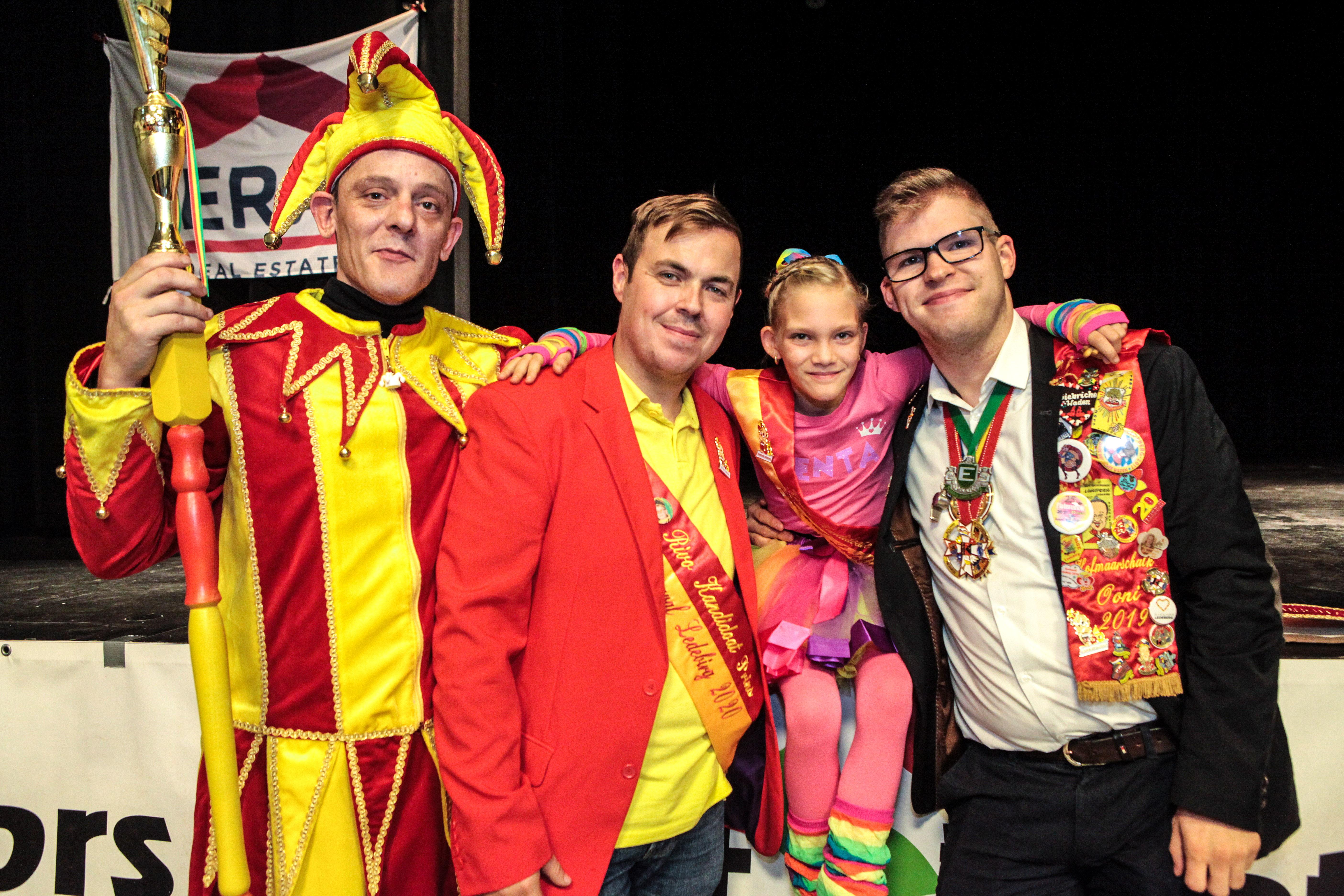 Carnaval Ledeberg van start met twee kandidaten