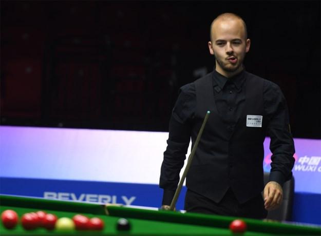 Luca Brecel plaatst zich voor hoofdtabel in World Open snooker