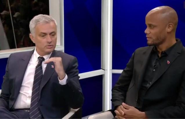 """Vincent Kompany duikt in Engeland op als analist, en gaat meteen in tegen José Mourinho: """"Man City kan nog kampioen spelen"""""""