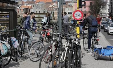 28,5 plaatsen voor auto's weg, 447 fietsstallingen erbij in Gent centrum