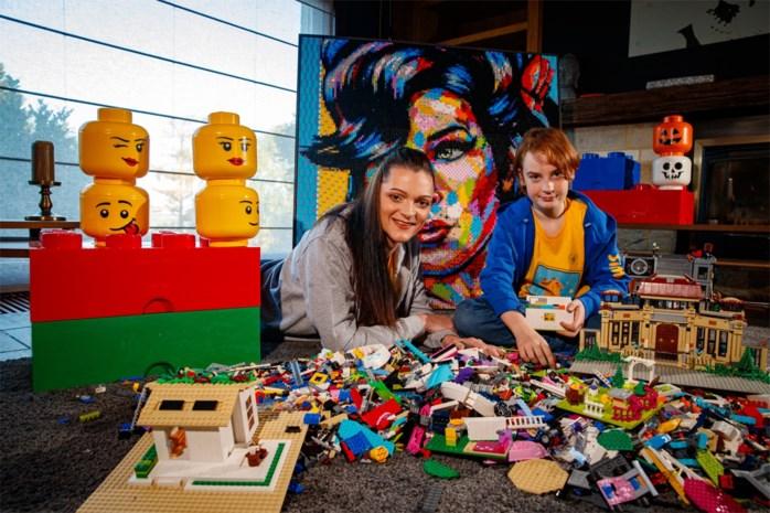 """Volgende maand opent eerste 'Legotheek' voor kansarme gezinnen: """"Om te stoppen met piekeren, werkt Lego perfect"""""""