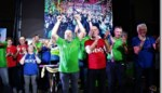 FOTO. Kilometervreters scoren met '24 uur fietsmarathon op rollen' voor Kom op tegen Kanker